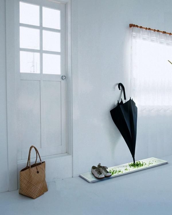 创意绿植伞架