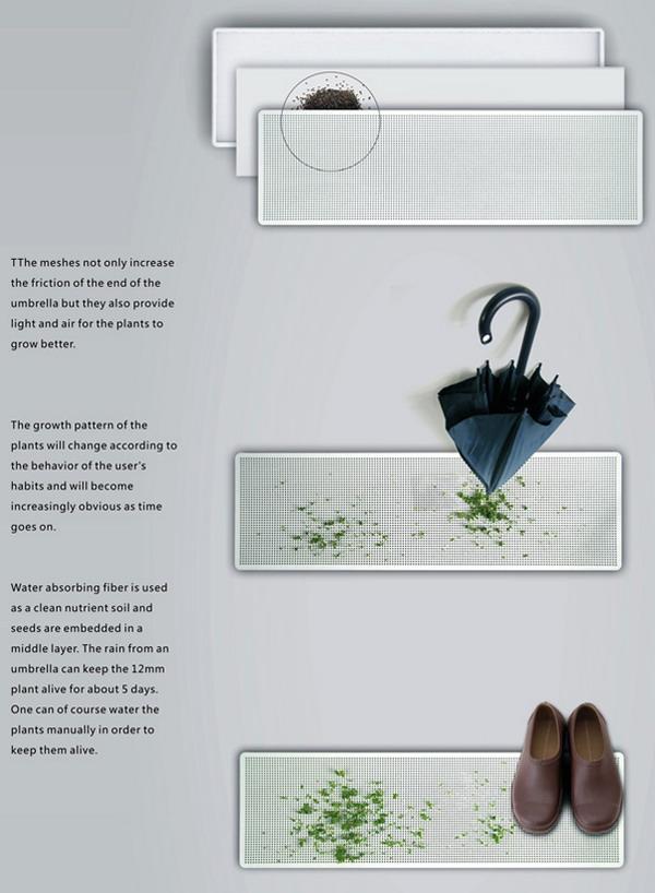 创意绿植伞架(二)
