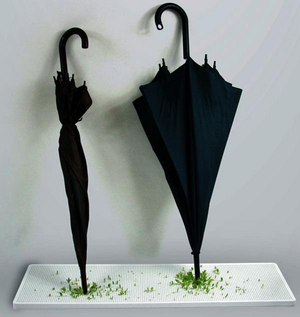 创意绿植伞架(四)