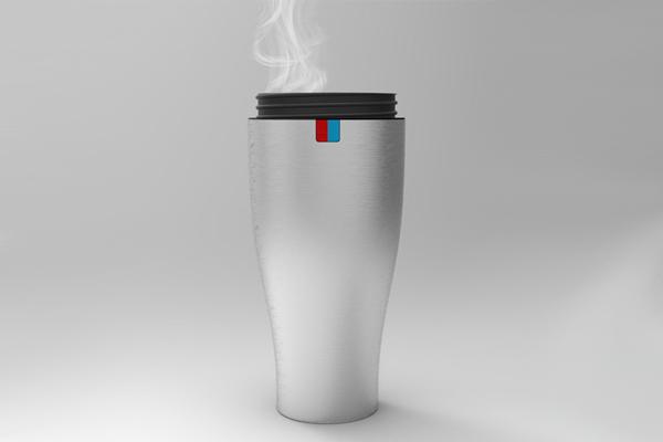 冷热水温控杯
