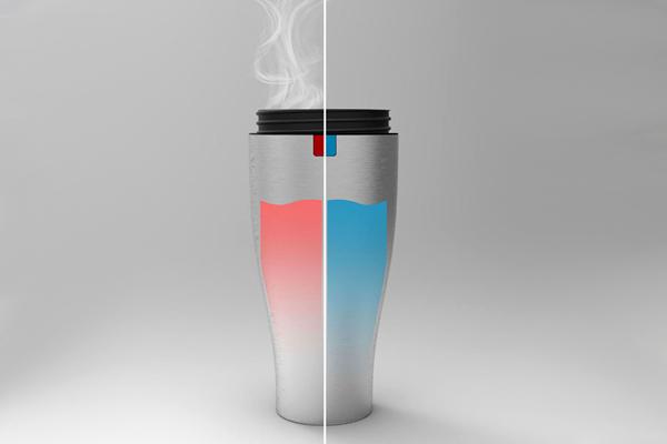 冷热水温控杯(二)