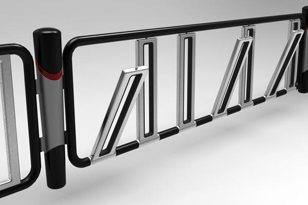 户外停自行车的栅栏(二)