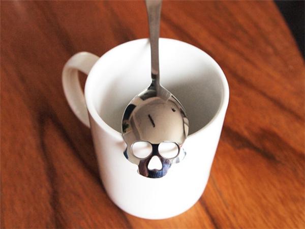提醒少吃糖的骷髅糖勺