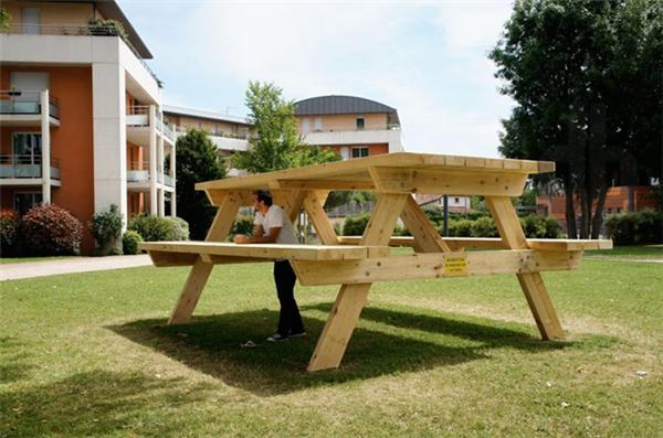 有趣的巨型餐桌(二)