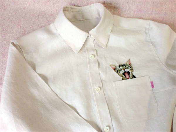 有趣的刺绣衬衫(三)