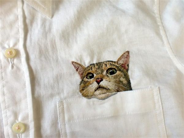 有趣的刺绣衬衫(四)