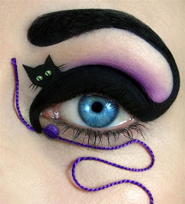 插图式眼影
