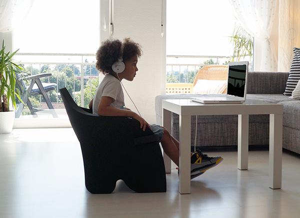 为儿童设计的有趣泡沫椅(二)