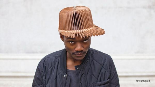 创意有趣的木片帽(二)