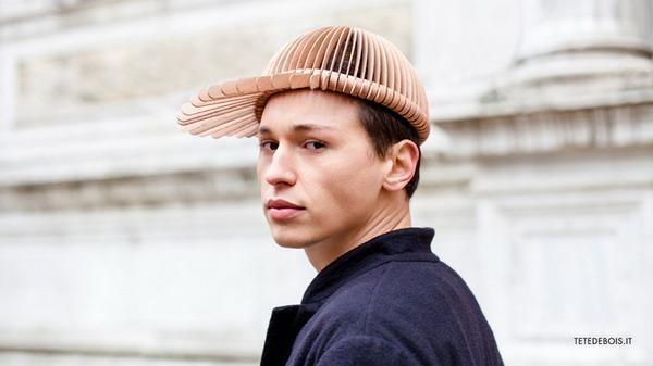 创意有趣的木片帽(三)