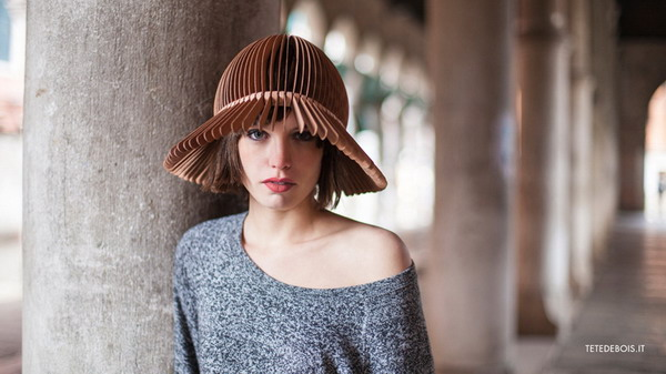 创意有趣的木片帽(五)