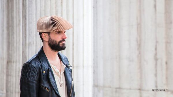 创意有趣的木片帽(六)