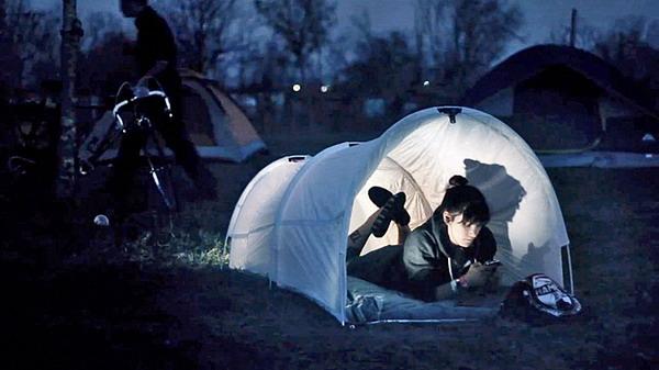 环保的垃圾袋帐篷(二)