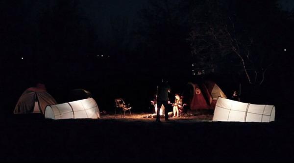 环保的垃圾袋帐篷(六)