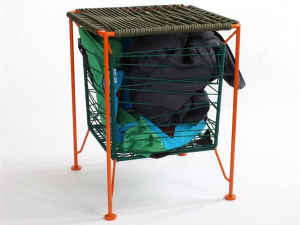创意橡皮带收纳凳
