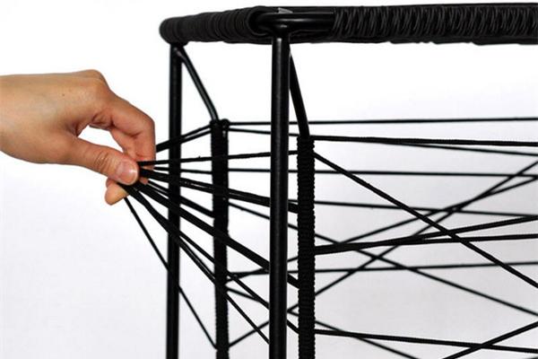 创意橡皮带收纳凳(六)