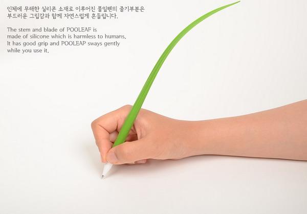 充满绿意的盆栽水笔(三)