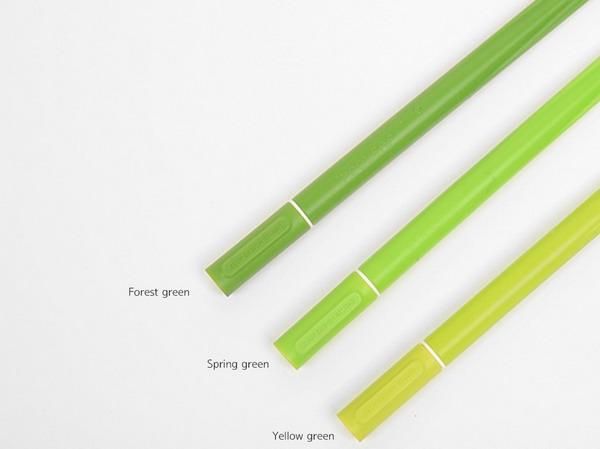 充满绿意的盆栽水笔(四)