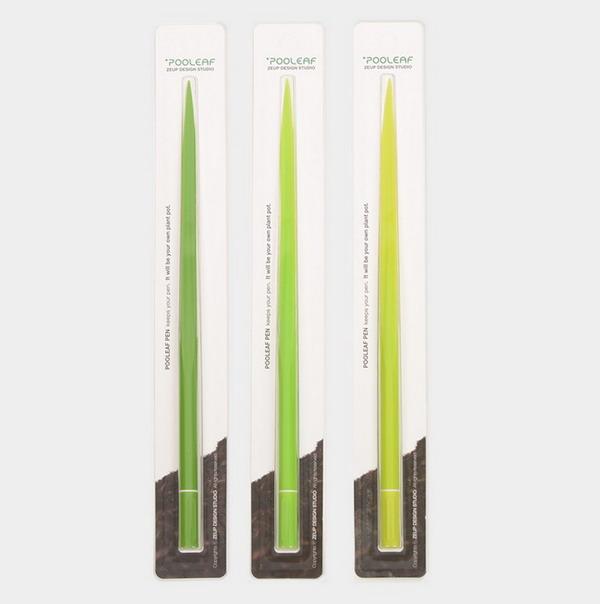 充满绿意的盆栽水笔(五)