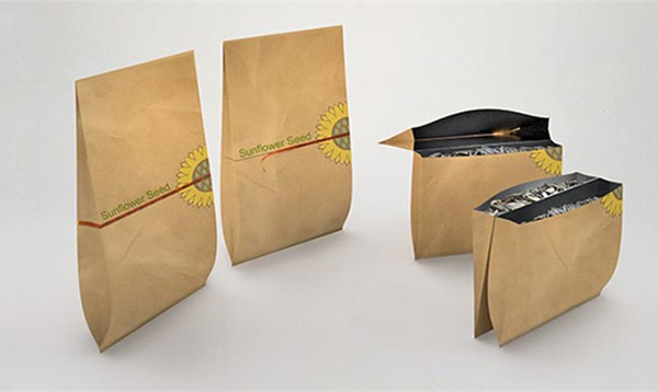 简单但使用的瓜子两用包装
