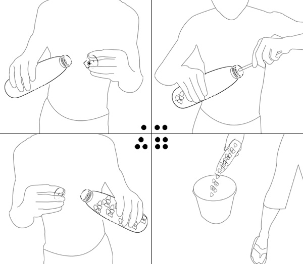 环保有爱的瓶盖卷笔刀(三)