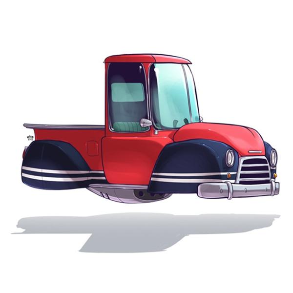 未来汽车绘画艺术(八)