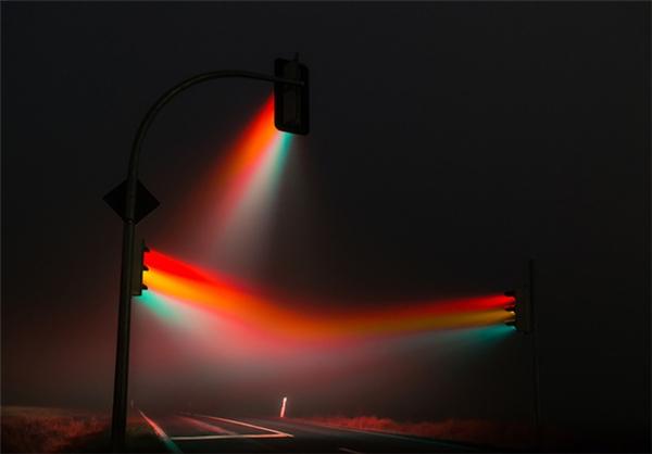 超酷的红绿灯摄影