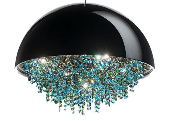 美丽的可定制水晶灯