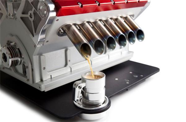 超霸气V12引擎咖啡机