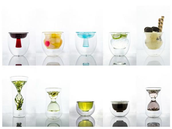 里外双层玻璃器具(五)