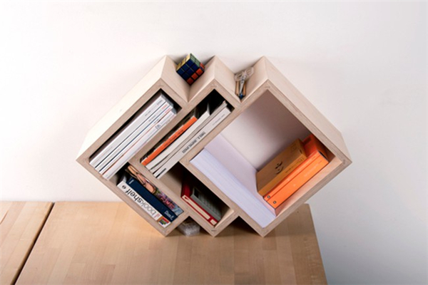 横竖都可以放的书架