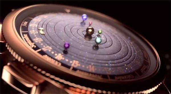 精制之作太阳系腕表
