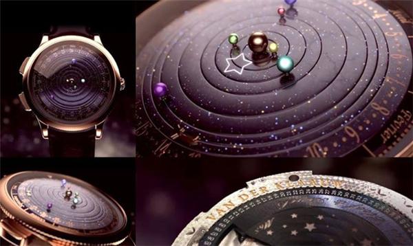 精制之作太阳系腕表(七)