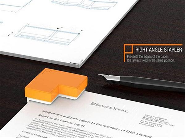 非常有用的直角订书机