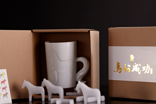 马到成功创意杯包装