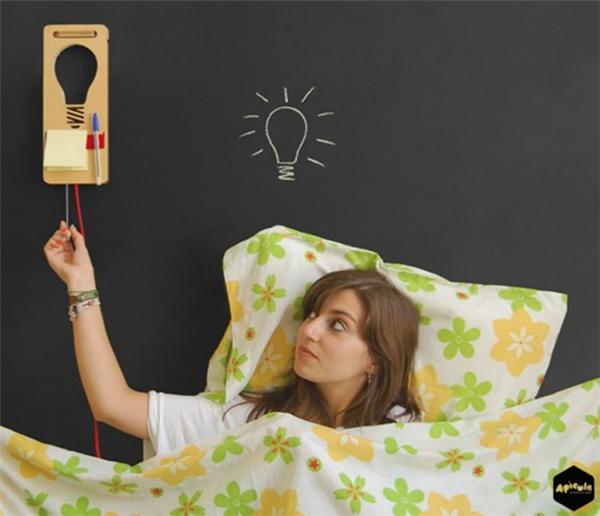 抓住睡前灵感的床头灯(二)