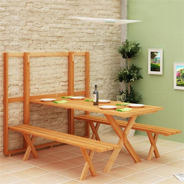 节省空间的餐桌组