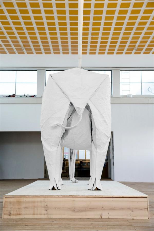 1比1折纸大象(八)