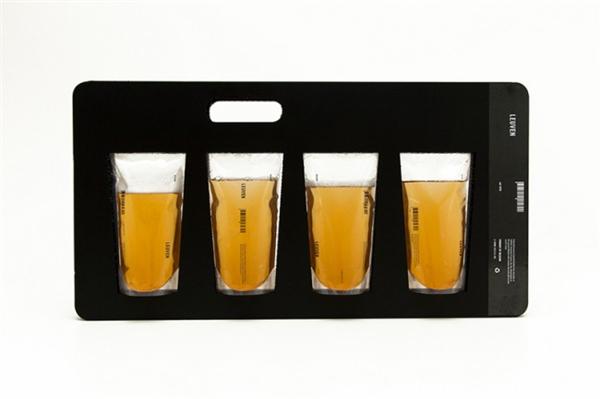 有趣的新型啤酒包装
