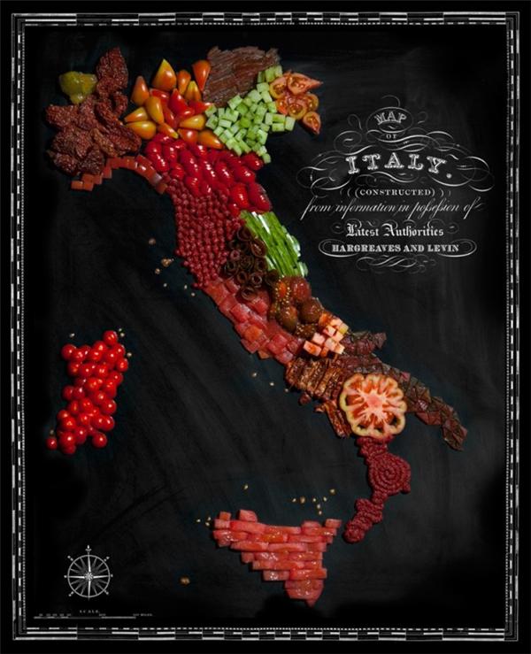 有趣的食物地图(四)