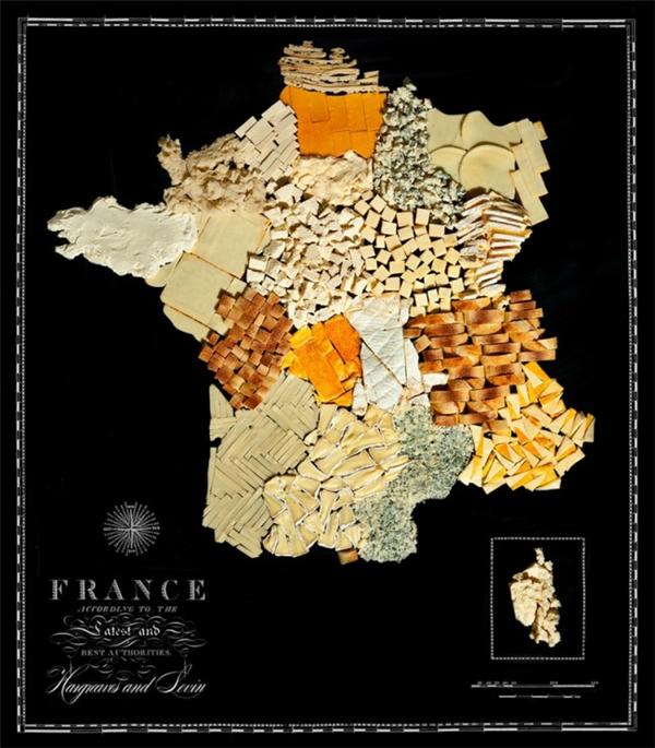 有趣的食物地图(六)