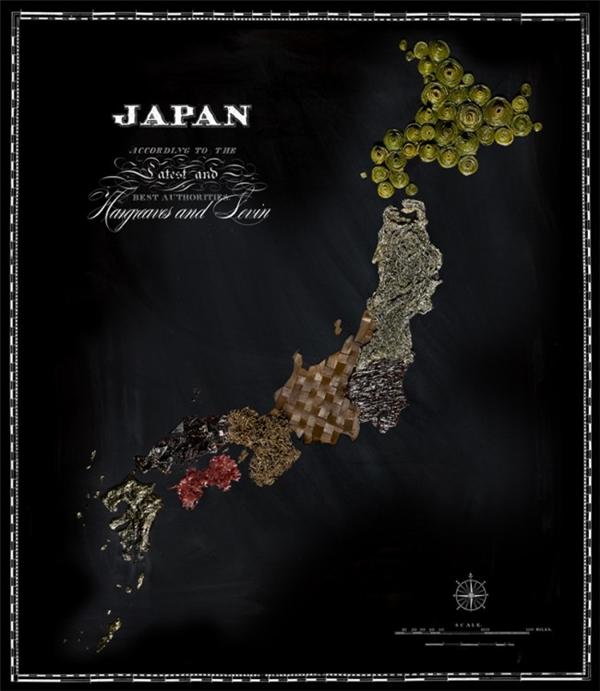 有趣的食物地图(七)