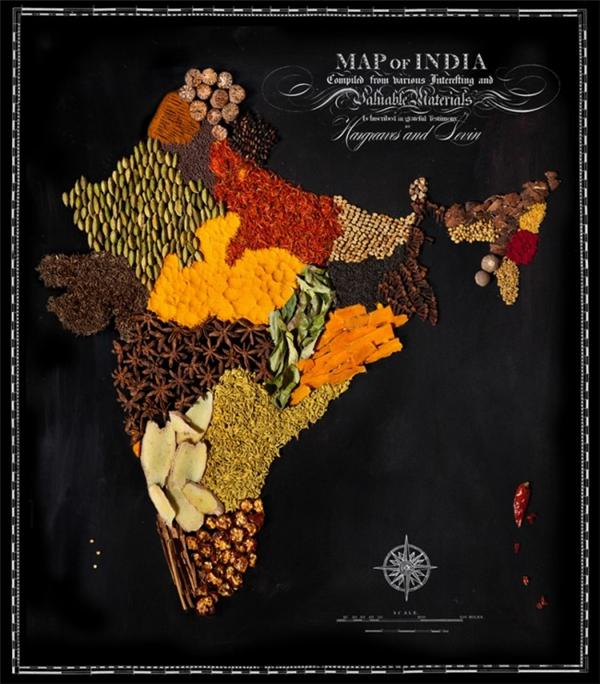 有趣的食物地图(九)