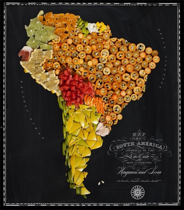 有趣的食物地图(十一)