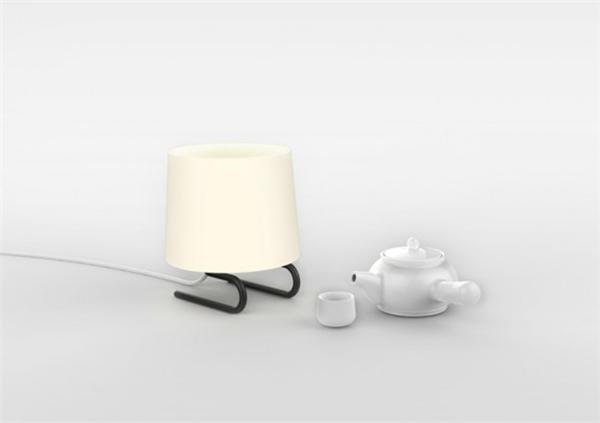 一款有趣的台灯设计(二)