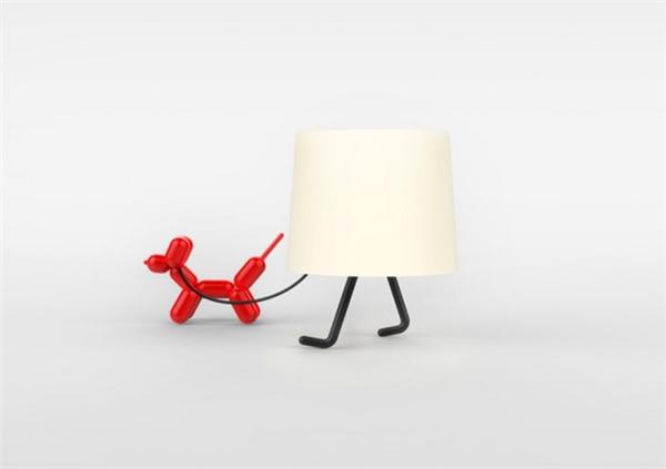 一款有趣的台灯设计(三)