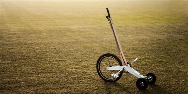创新型城市站立骑行车