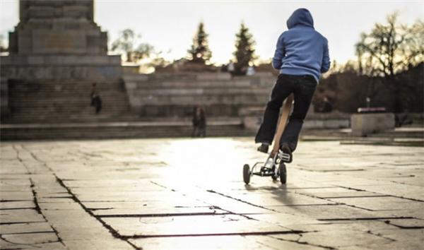 创新型城市站立骑行车(二)