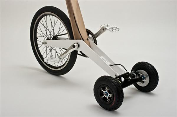 创新型城市站立骑行车(四)
