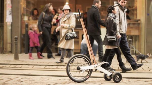 创新型城市站立骑行车(六)